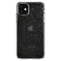 Spigen Liquid Crystal Glitter Case Silber iPhone 11