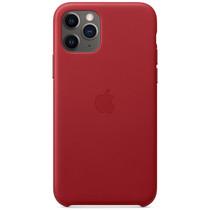 Apple Leder-Case Rot für das iPhone 11 Pro