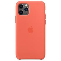 Apple Silikon-Case Clementine Orange für das iPhone 11 Pro
