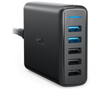 Anker PowerPort Speed 5 - Schwarz