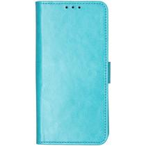 Stilvolles Booklet Türkis für das LG G8s ThinQ