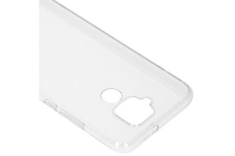 Huawei Mate 30 Lite hülle - Panther Design Silikonhülle für