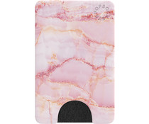 PopSockets PopWallet - Pink Marble