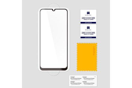 Spigen GLAStR Full Cover Screen Protector Schwarz für das Samsung Galaxy A40