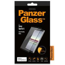 PanzerGlass Case Friendly Displayschutzfolie für Schwarz Sony Xperia 5