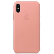 Apple Leder-Case Soft Pink für das iPhone Xs / X