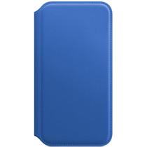 Apple Leather Folio Book Case Electric Blue für das iPhone X / Xs