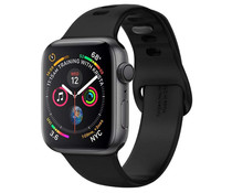 Spigen Air Fit Band Schwarz für die Apple Watch 44 / 42 mm