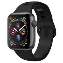 Spigen Air Fit Band Schwarz für die Apple Watch 44 / 42 mm