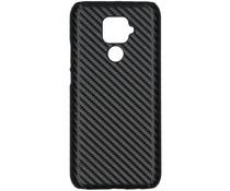 Carbon Look Hardcase-Hülle Schwarz Huawei Mate 30 Lite