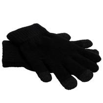 iMoshion Glatte Touchscreen-Handschuhe - Schwarz