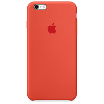 Apple Silikon-Case Orange für das iPhone 6(s) Plus