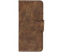 Business TPU Booktype-Hülle Braun für Samsung Galaxy A90 5G
