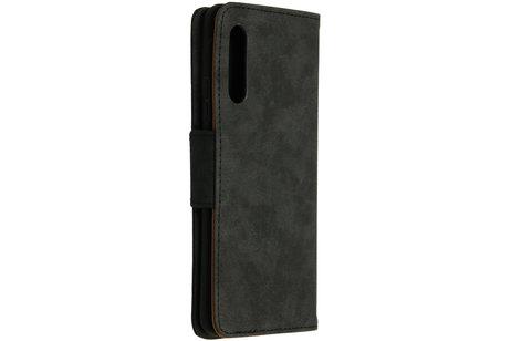 Samsung Galaxy A90 5G hülle - Business TPU Booktype-Hülle Schwarz