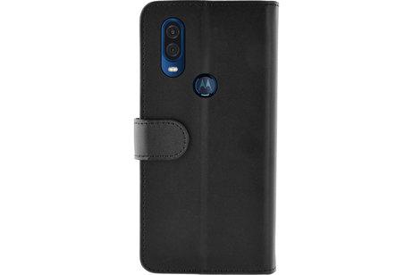 Motorola One Vision hülle - Azuri Book-style Wallet Case
