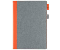 Gecko Covers Easy-Click Bookcase Grau / Orange iPad Pro 10.5 / Air 10.5