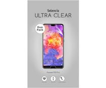 Selencia Duo Pack Ultra Clear Screenprotector für das Huawei P20 Pro