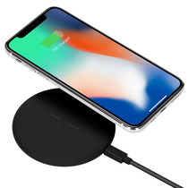 Accezz Qi Fast Wireless Charger - 10 Watt - Schwarz