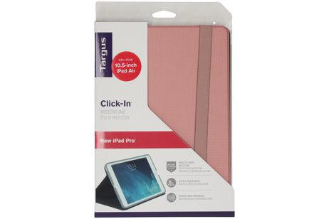 Targus Click-in Bookcase Rosa für das iPad Pro 10.5 / iPad Air 10.5