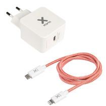 Xtorm AC Adapter + Lightning kabel Power Delivery - 18 Watt