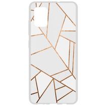 Design Silikonhülle für das Samsung Galaxy A51