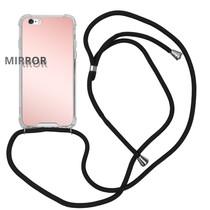 iMoshion Mirror Backcover mit Band Roségold für das iPhone 6 / 6s