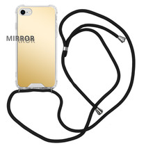 iMoshion Mirror Backcover mit Band Gold iPhone SE (2020) / 8 / 7