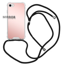 iMoshion Mirror Backcover mit Band Roségold iPhone SE (2020) / 8 / 7