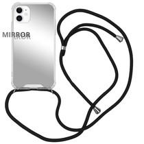 iMoshion Mirror Backcover mit Band Silber für das iPhone 11