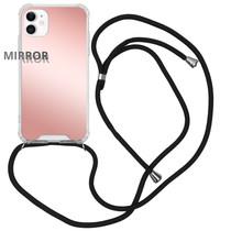 iMoshion Mirror Backcover mit Band Roségold für das iPhone 11