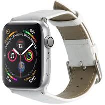 iMoshion Krokodil Lederarmband Weiß für Apple Watch 40 / 38 mm