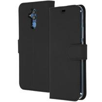 Accezz Wallet TPU Booklet Schwarz für das Huawei Mate 20 Lite