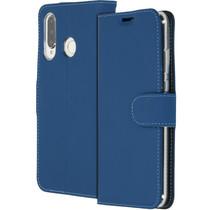 Accezz Wallet TPU Booklet Blau für das Huawei P30 Lite