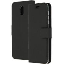 Accezz Wallet TPU Booklet Schwarz für das Nokia 3.1