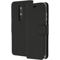Accezz Wallet TPU Booklet Schwarz für das Nokia 5.1