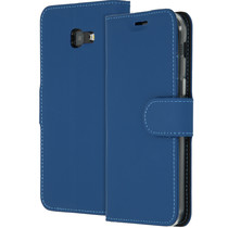 Accezz Wallet TPU Booklet für das Samsung Galaxy A5 (2017) - Blau