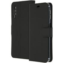 Accezz Wallet TPU Booklet Schwarz für das Samsung Galaxy A7 (2018)