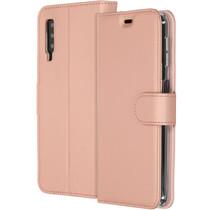 Accezz Wallet TPU Booklet Roségold für das Samsung Galaxy A7 (2018)