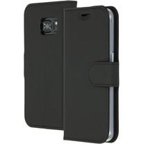 Accezz Wallet TPU Booklet für das Samsung Galaxy S7 - Schwarz