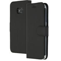 Accezz Wallet TPU Booklet für das Samsung Galaxy S7 Edge - Schwarz