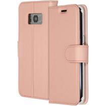 Accezz Roségoldfarbenes Wallet TPU Booklet für Samsung Galaxy S8
