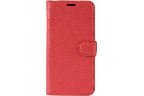 Google Pixel 4 XL hülle - Stilvolles Booklet Rot für