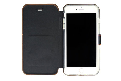 Valenta Impact Wallet Booktype Braun für das iPhone 8 Plus / 7 Plus / 6(s) Plus