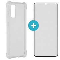 iMoshion Anti-Shock Backcover + Premium Screen Protector Galaxy S20