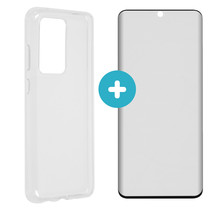 iMoshion Softcase Cover + Premium Screen Protector Galaxy S20 Ultra