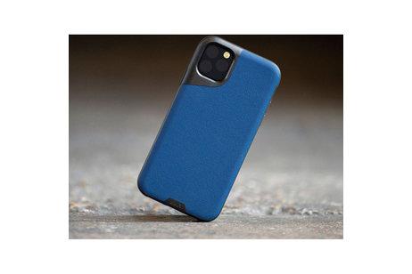 iPhone 11 Pro hülle - Mous Contour Backcover Blau