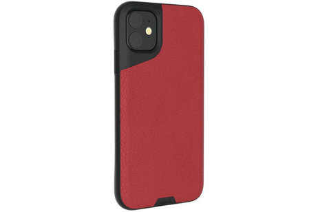 iPhone 11 hülle - Mous Contour Backcover Rot