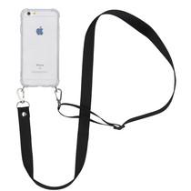 iMoshion Backcover mit Band - Nylon Schwarz für das iPhone 6 / 6s