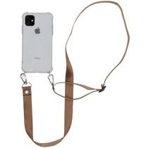 iMoshion Backcover mit Band - Nylon Beige für das iPhone 11