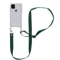 iMoshion Backcover mit Band - Nylon Grün für das iPhone 11